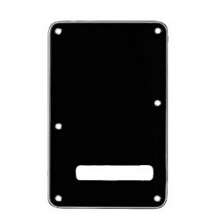 ACCESSORIO FENDER BACKPLATE STRAT BLACK 0991322000